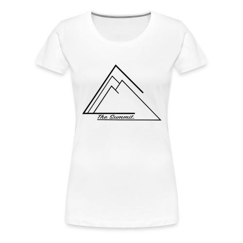 The Summit Phone case - Women's Premium T-Shirt