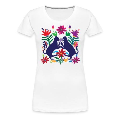 Otomi Cats S by TeeNERD - Women's Premium T-Shirt