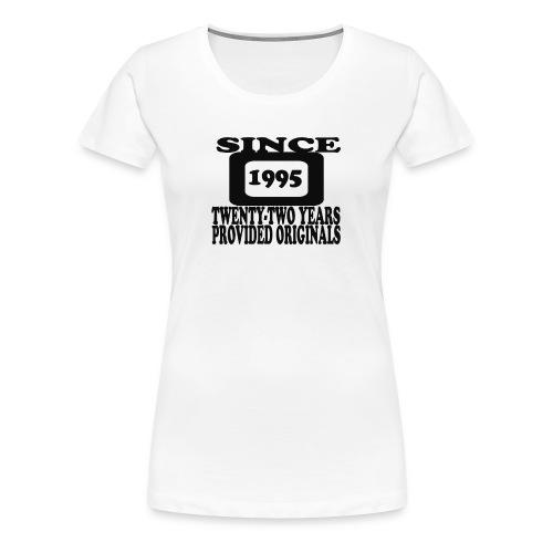 22TH - Women's Premium T-Shirt