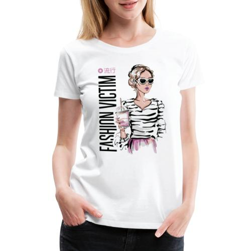 fashion victim style vogue - Women's Premium T-Shirt