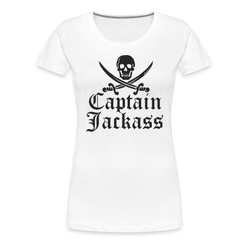 captainjackass - Women's Premium T-Shirt