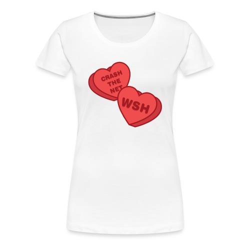 Candy Hearts - Women's Premium T-Shirt