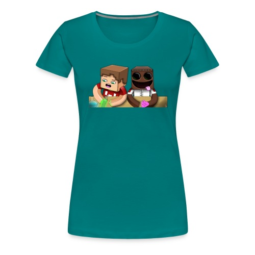 ze and chilled love png - Women's Premium T-Shirt