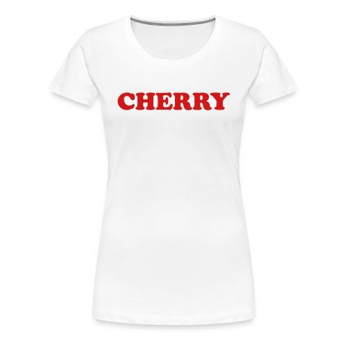 Cherry Fruitee - Women's Premium T-Shirt