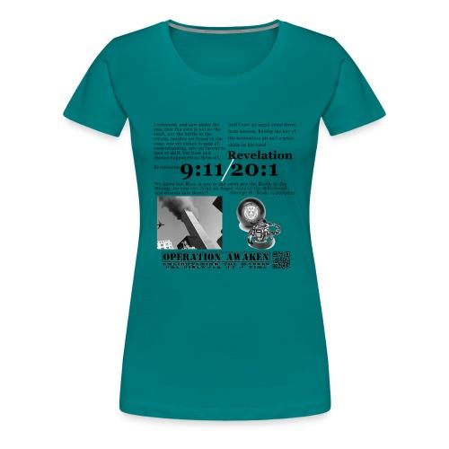 angel in the whirlwind greynobg png - Women's Premium T-Shirt