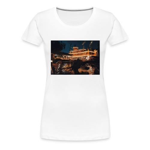 Peaceful Night - Women's Premium T-Shirt