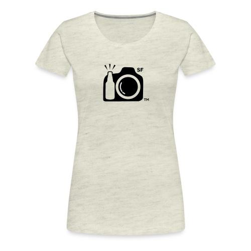 San Francisco Transparent With Initials png - Women's Premium T-Shirt