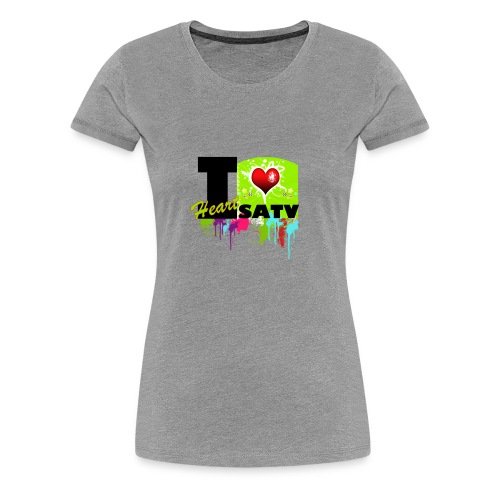 I Love SATV - Women's Premium T-Shirt
