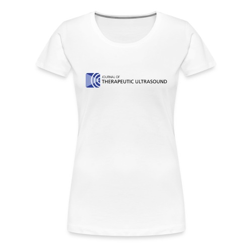 Journal of Therapeutic Ultrasound Logo png - Women's Premium T-Shirt