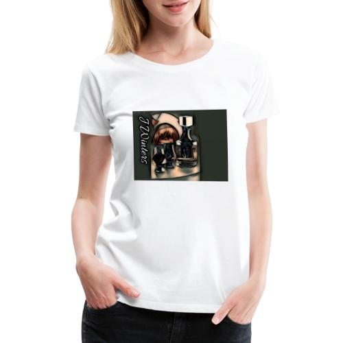 Cold hearted ice line - Women's Premium T-Shirt