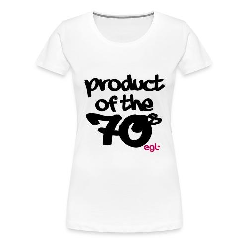 PRODUCTOF70 - Women's Premium T-Shirt