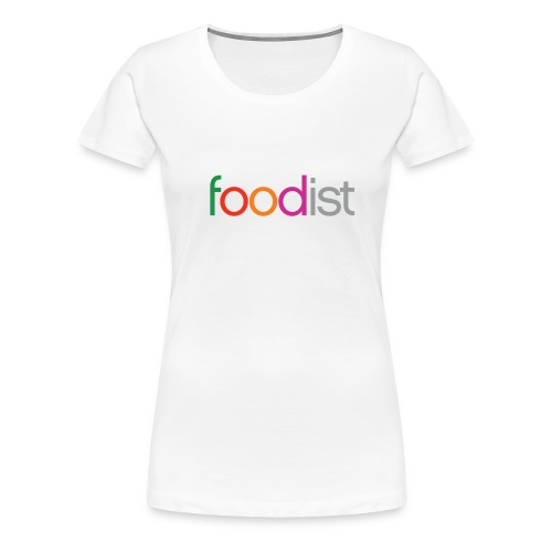 Foodist Title png - Women's Premium T-Shirt