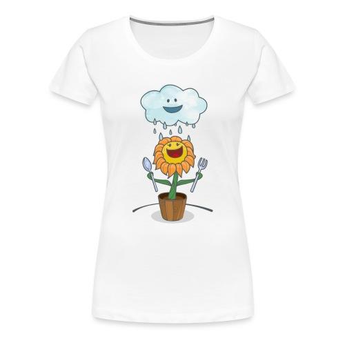 Cloud & Flower - Best friends forever - Women's Premium T-Shirt