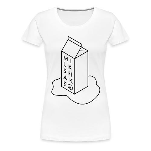 Milkshake1 - Women's Premium T-Shirt