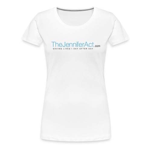 the jennifer act logo png - Women's Premium T-Shirt