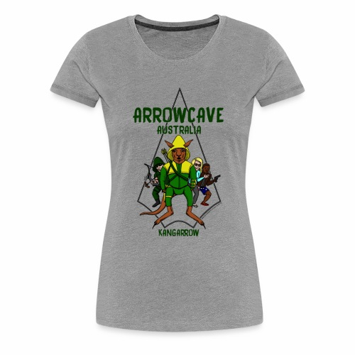 Arrow Cave Logo - Women's Premium T-Shirt