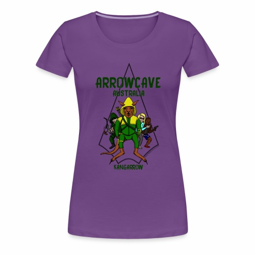 Arrow Cave Logo - Women's Premium T-Shirt