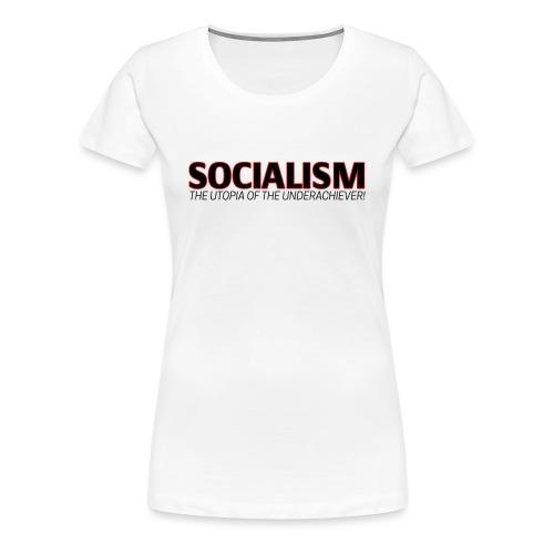 SOCIALISM UTOPIA - Women's Premium T-Shirt