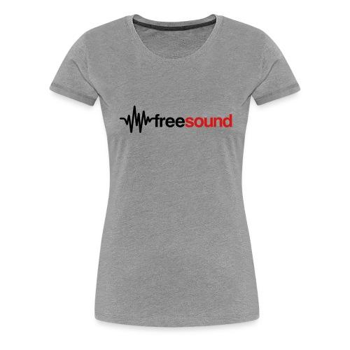 freesound logo tshirt - Women's Premium T-Shirt