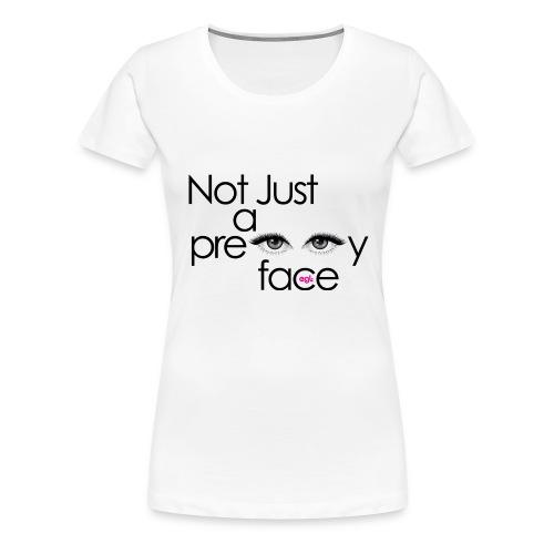 •NOT_JUST_TEE - Women's Premium T-Shirt