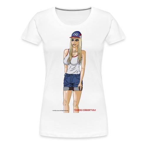Gina Character Design - Women's Premium T-Shirt