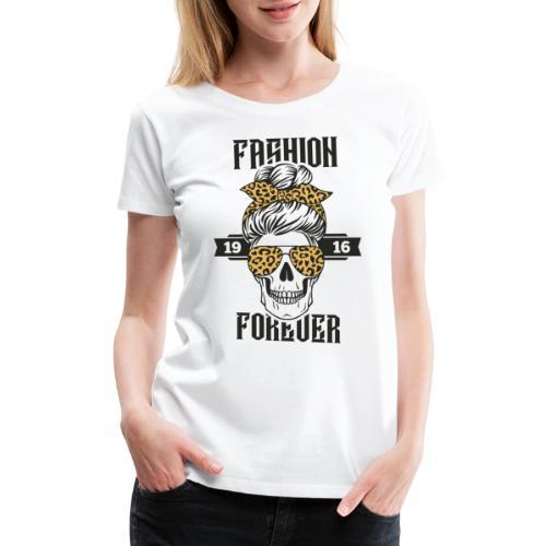 grandma fashion skull - Women's Premium T-Shirt