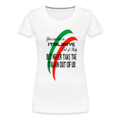 Italian top - Women's Premium T-Shirt