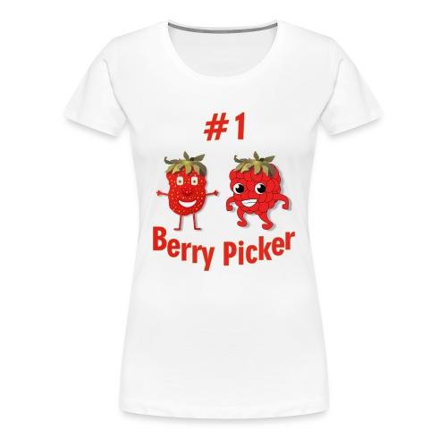 #1 Berry Picker - Women's Premium T-Shirt