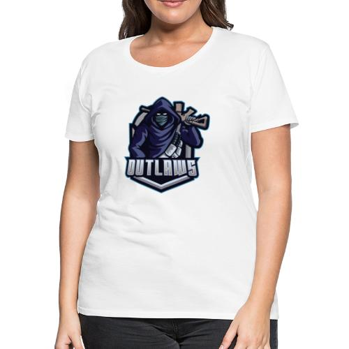 Outlaws Gaming Clan - Women's Premium T-Shirt