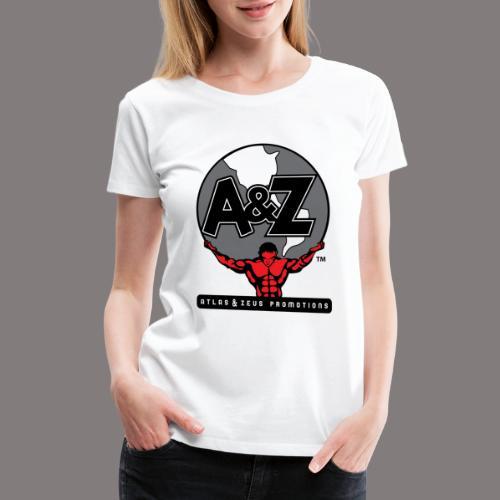 A Z Logo Randy Santel - Women's Premium T-Shirt