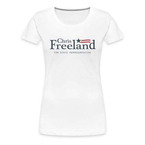 FREELAND FOR STATE REP - Women's Premium T-Shirt