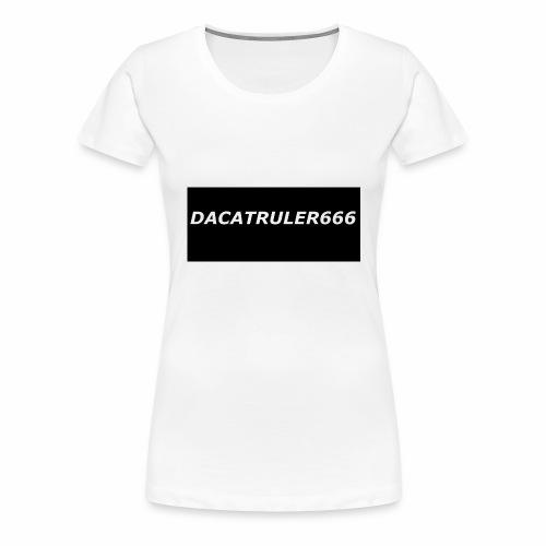DaCatRuler666 1'st merch set - Women's Premium T-Shirt