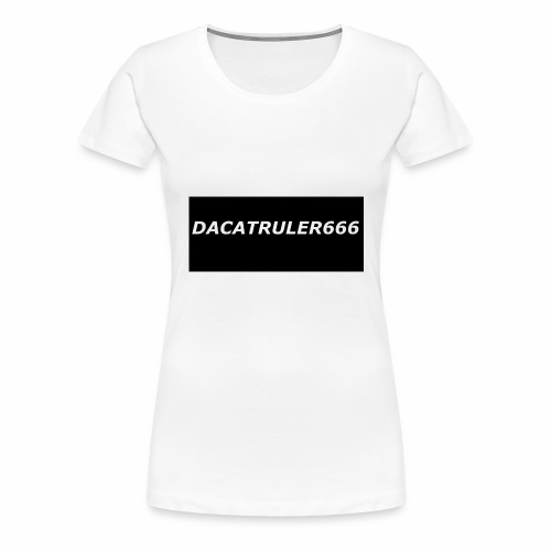 DaCatRuler666 1'st merch set - Women's Premium T-Shirt
