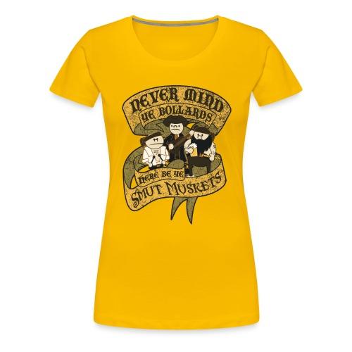Never Mind Ye Bollards... - Women's Premium T-Shirt