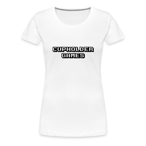 Logo Rectangle no bg - Women's Premium T-Shirt