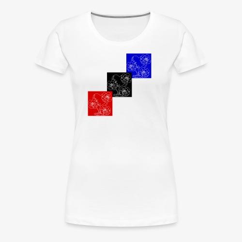 Treasure Blossom Heart - Women's Premium T-Shirt