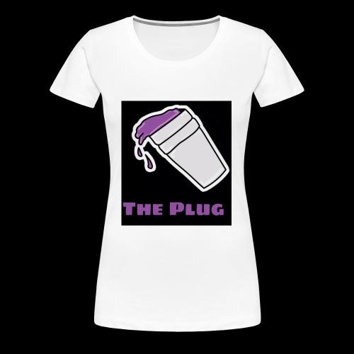 the Plug logo - Women's Premium T-Shirt