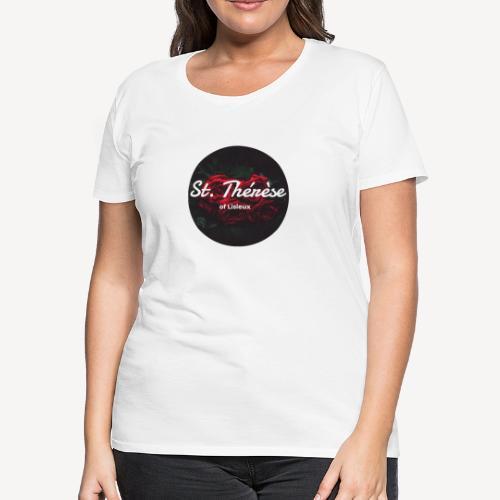 Saint Thérèse of Lisieux - Women's Premium T-Shirt
