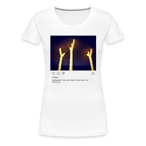 TREE LIGHT - Women's Premium T-Shirt