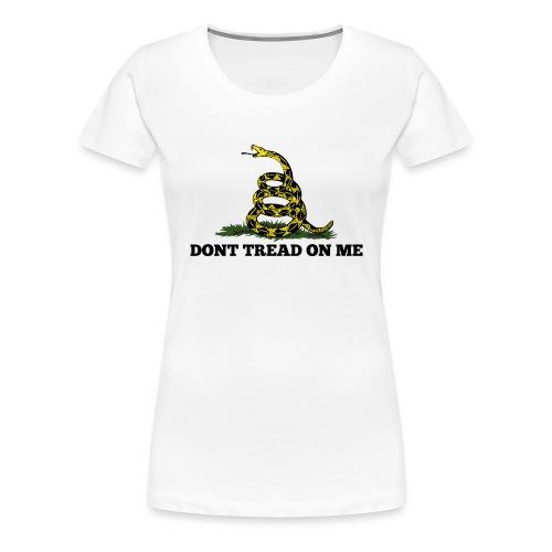 GADSDEN DONT TREAD ON ME - Women's Premium T-Shirt