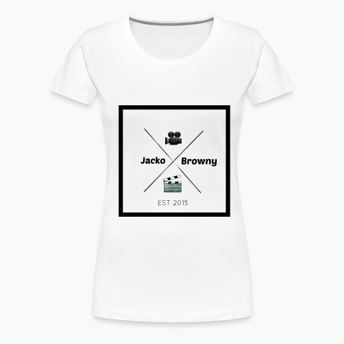 youtube logo 2 - Women's Premium T-Shirt