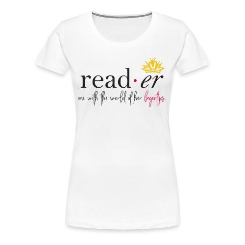 Reader Definition Tee - Women's Premium T-Shirt
