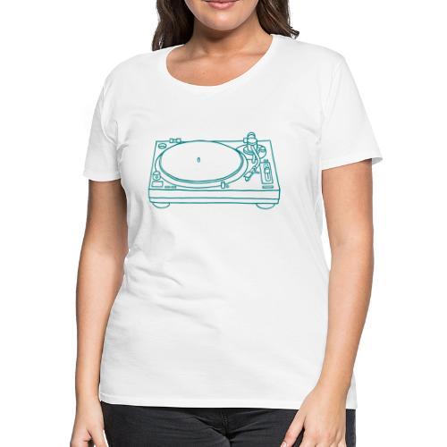 record player - Women's Premium T-Shirt