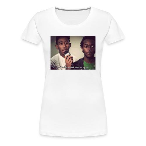 Tyler the creator motivation - Women's Premium T-Shirt