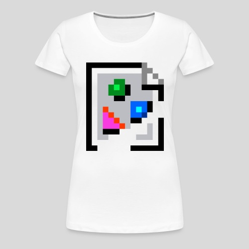 Broken Graphic / Missing image icon Mug - Women's Premium T-Shirt