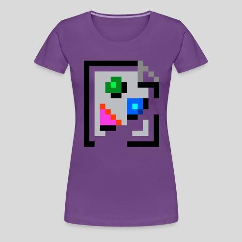 Broken Graphic / Missing image icon Mug - Women's Premium T-Shirt