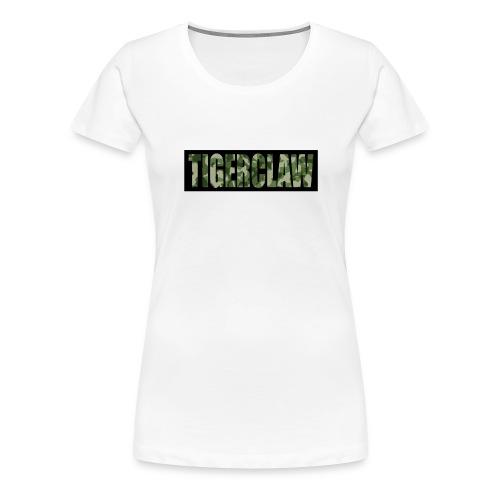 TigerClawCamo - Women's Premium T-Shirt