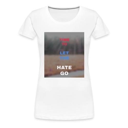 Time 2 let go - Women's Premium T-Shirt