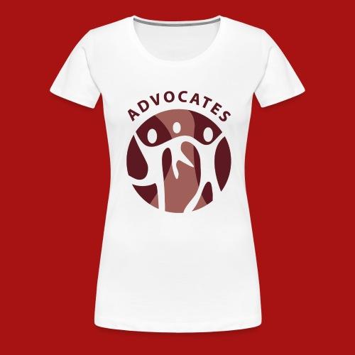Advocates Logo Transparent - Women's Premium T-Shirt