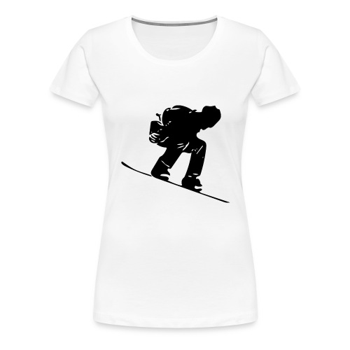 Snowboard - Women's Premium T-Shirt
